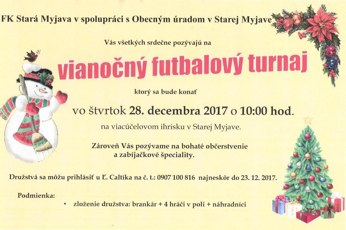 Vianočný futbalový turnaj