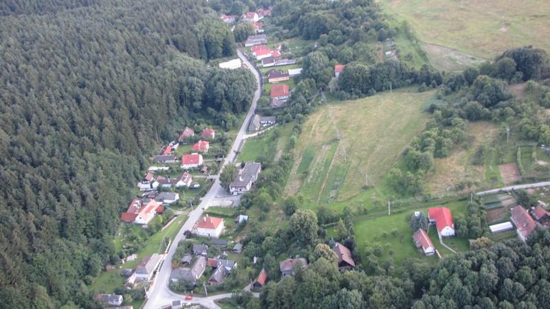Letecký pohľad